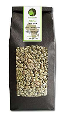 Green coffee beans Kenya Josra (highland raw coffee beans) from Rohebohnen