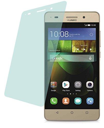 4ProTec Huawei G Play Mini (2 Stück) Premium Bildschirmschutzfolie Displayschutzfolie kristallklar Schutzhülle Bildschirmschutz Bildschirmfolie Folie