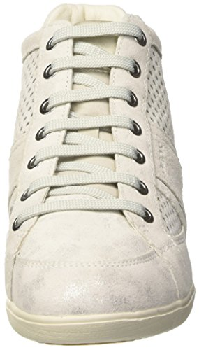 Geox Damen D Myria B High-Top Elfenbein (OFF WHITEC1002)