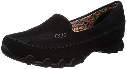 Skechers Relaxed Fit Bikers Pedestrian Women's Walking Shoes - Black, 6 UK...