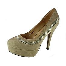 shoes scarpe donna ragazza moda comoda new decoltè decolletè dekol'tè tacco  a spillo 12