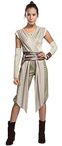 Rey - Star Wars - La Force réveille - Adulte Costume de déguisement - Small - Taille 36/38