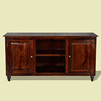 sideboard crimson aus recyceltem massivholz kolonial stil braune vintage kommode f r. Black Bedroom Furniture Sets. Home Design Ideas