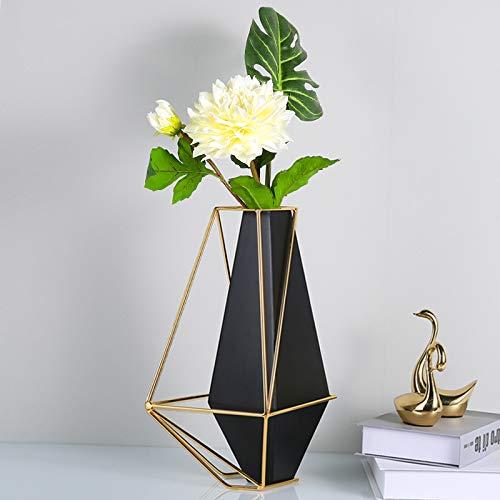beidexiaowu postmodernen geometrischen schwarzen Metall vase Dekoration Xuan geschlossen Tisch Wohnzimmer tv-kabinett Desktop dekorative blumenanordnung
