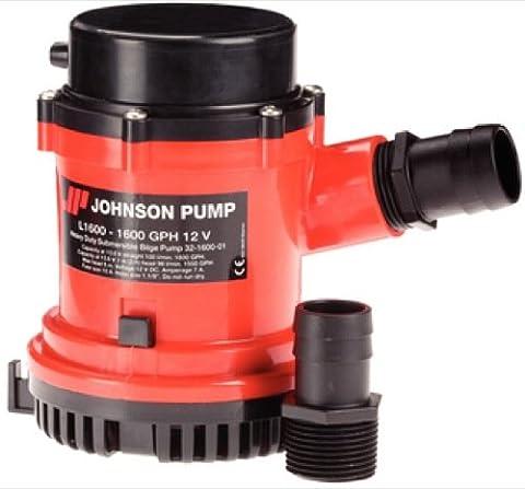 Johnson Pump 1600 GPH/24V No Switch HD Bilge