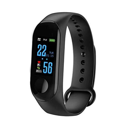 zlywj m3 smart heart rate bracelet blood pressure movement avviso bluetooth sync regalo nerocardiofrequenzimetro