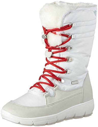 Tamaris Damen 26905 Schneestiefel, Weiß (White), 38 EU