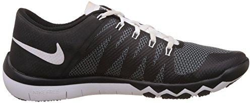 Nike Herren Freetrainer 5.0 V6 Hallenschuhe Schwarz (Black/White-Bright Crimson 006)