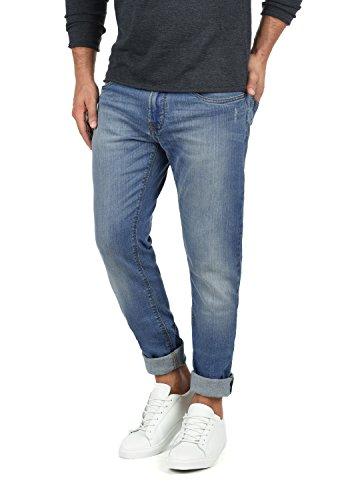 Indicode Quebec Herren Jeans Hose Denim Aus Stretch-Material Regular Fit, Größe:W33/30, Farbe:Medium Indigo (869) (Jeans Indigo Medium)