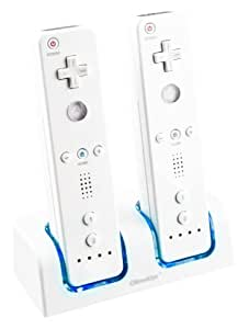 Wii - Charging Station Blue Light Duo