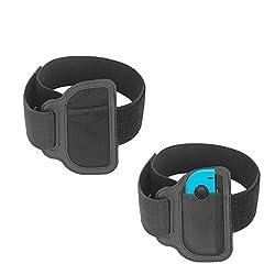 FAROFF Leg Band Strap für Nintendo Switch Ring Fit Adventure Game, Einstellbare elastische Sportbewegung Bein Band-2 Pack