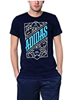 Adidas Men's T-Shirt, Blue