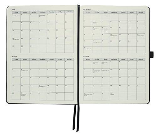 Action Day Planer 2018–World 's Best Action Planer, Action Layout, das Things Done–Tägliche/wöchentliche/monatliche/Jährliche Agenda, Organizer und Ziel Tagebuch (Fadenheftung) 8x11 Inch - Black schwarz - 6