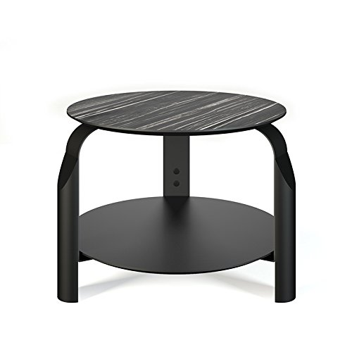 Paris Prix - Temahome - Table D'appoint Scale Blanc Mat & Noir