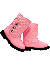 Bébé filles enfants enfants enfants hiver cheville brevet chaussures de soirée taille 7
