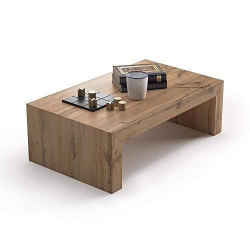 Mobilifiver Tavolino da Salotto, First H30, Rovere Rustico, 90 x 54 x 30 cm, Nobilitato, Made in Italy, Disponibile in Vari Colori