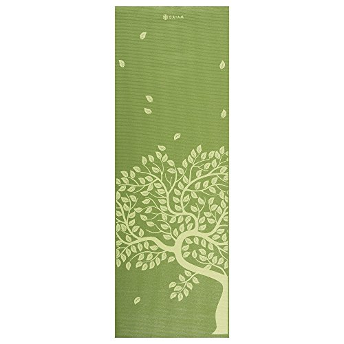 gaiam-05-53043-colchoneta-de-yoga-3-mm-172-cm-luz-anti-deslizante-hasta-4-mm-color-verde-talla-uk-3m