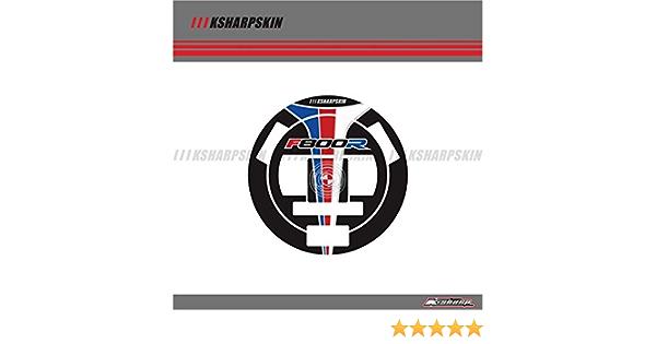 3d Aufkleber Emblem Schutz Tank Pad Cas Kappe Fit FÜr F800r Tankdeckel Pad Auto