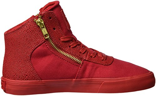 Supra - Cuttler, Pantofole Donna Rot (Risk Red)