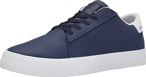 Supra BELMONT, Low-Top Sneaker Unisex – adulto Navy - off white