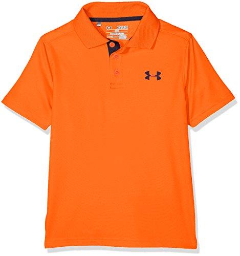 Under Armour Jungen Performance Polo Kurzarmshirt, Magma Orange, L