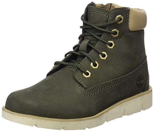 Timberland Unisex Kinder Radford 6 inch Klassische Stiefel, Grün (Grapeleaf Nubuck A58), 31 - Mädchen Schuhe Stiefel Kind