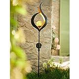 Pureday Solarleuchte Flame