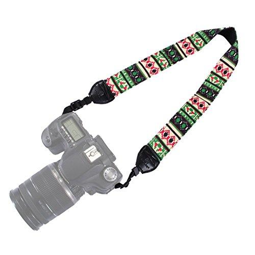 Swall owuk Vintage Universal fotocamera Tracolla Tracolla Cinghia per Fotocamera Boemia Cinghia