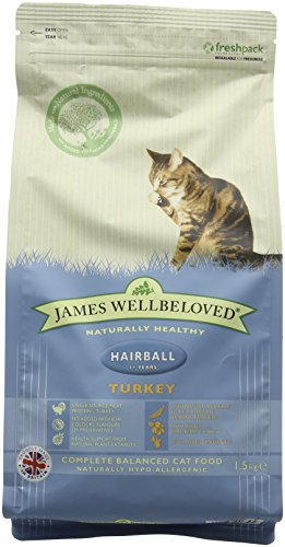 james-wellbeloved-turkey-and-rice-hairball-dry-cat-food-15-kg