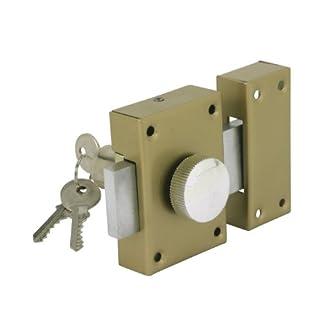 Cogex 80804 – Cerradura de seguridad (con pomo interior)