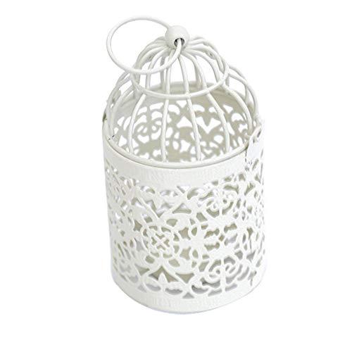 Ludage Wohnaccessoires Handwerk Europäischen Stil Hohle Kerze Ornamente Home Dekoration Hochzeit Requisiten 8 * 14cm - Hohle Kerze