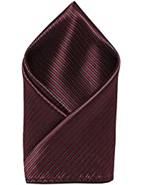 Maroon::Grey Colored Pocket Square from the house of Alvaro Castagnino