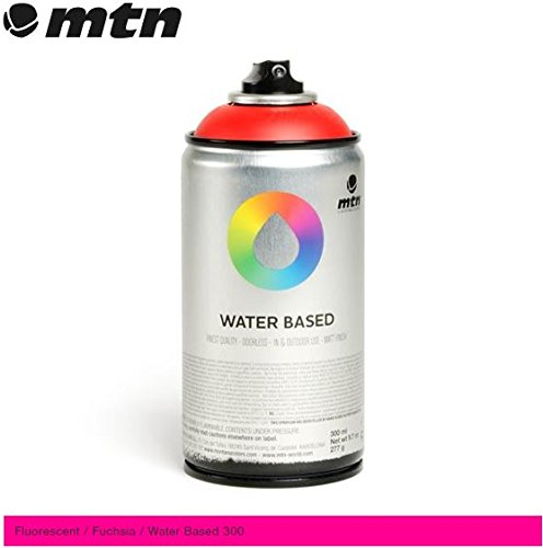 mtn-montana-colors-water-based-spray-paint-300ml-can-fluorescent-fuchsia-by-mtn