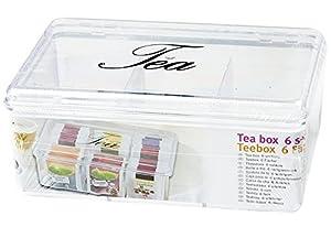 """Boîte à thé """"tea box teabox box, box-boîte de rangement pour les sachets de thé pour sachets"""