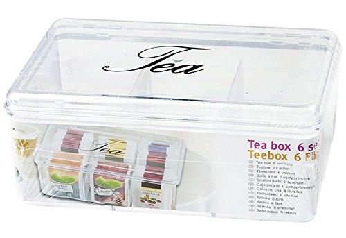 """Boîte à thé """"tea box teabox box, box-boîte de rangement d'occasion  Livré partout en Belgique"""