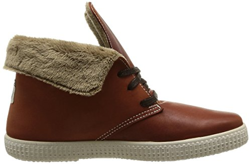 Victoria Safari Alta Piel Tintada Pelo, Baskets mode mixte adulte Marron (cuero)