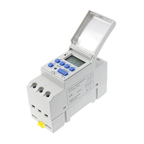 xcluma Digital Weekly Daily Programmable Electronic Timer Switch Ac 220V 16A