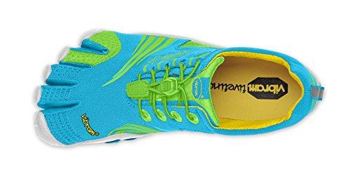 Vibram - scarpe da arrampicata  da donna (BLUE / GREEN)