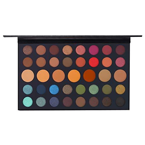 SCEMARK Damen 39 Farbe Lidschatten Wasserdichte Lidschattenplatte Puder Matt Lidschatten Kosmetik Make-up