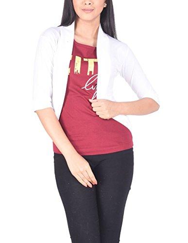TSG Bliss Women Cotton Shrug (TSGBLISS_SHRUG_WHITE_Free Size_WHITE__Free Size)  available at amazon for Rs.274