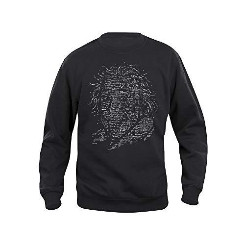 Pampling 4LB3RT Sweatshirt - Albert Einstein - Wissen - Hochwertiger Siebdruck -