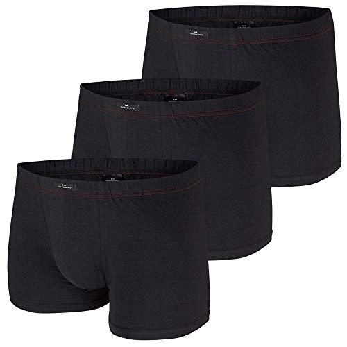GÖTZBURG® Sparpacks! 3er Pack Pants, Boxershorts, Shorts, Unterhosen, Unterwäsche, schwarz, weiß, Neu (5 / (M), schwarz)