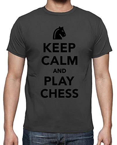 Camiseta Hombre Keep Calm - Varios colores / Varias Tallas