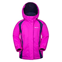 Mountain Warehouse Honey Kids Ski Jacket - Snowproof Childrens Jacket - Ideal To Keep Children Warm