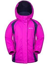 Mountain Warehouse Veste de ski enfant fille Garçon Blouson Chaud Hiver Honey