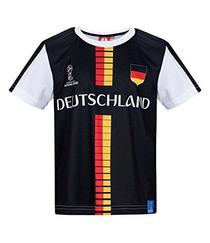 2018 FIFA World Cup Jungen T-Shirt - Schwarz - 116