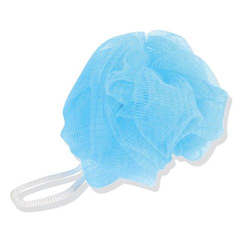Fleurs eponge de bain - Bleu clair