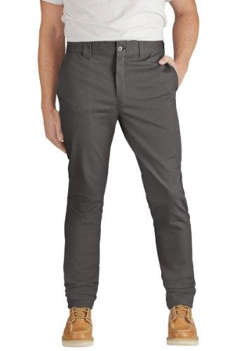 Dickies - - Männer WP803 Skinny Straight Fit Twill Work Pant, 31W x 34L, Gravel Gray (Twill Skinny)