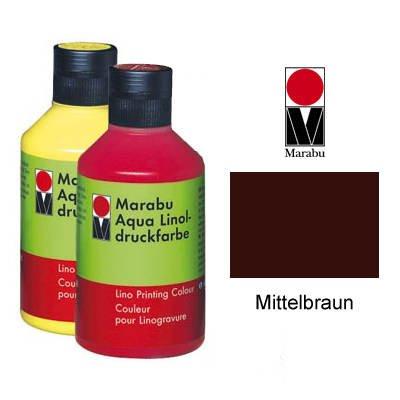 Marabu Linoldruckfarbe, 250ml, Mittelbraun [Spielzeug]