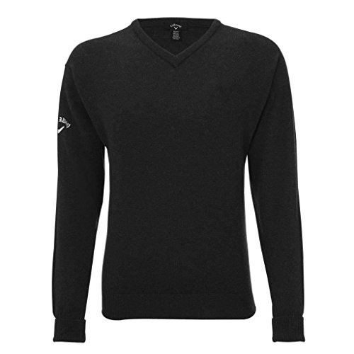 callaway-v-neck-lambswool-jumper-logo-chest-sleeve-black-small
